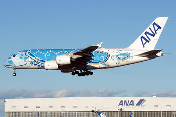 JA381A - ANA - All Nippon Airways Airbus A380