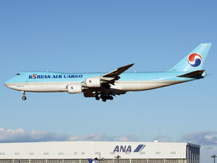 HL7610 - Korean Air Cargo Boeing 747-8F
