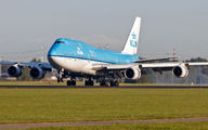 PH-BFL - KLM Boeing 747-400 aircraft