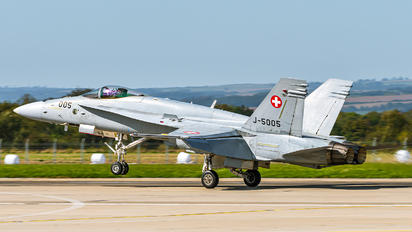 J-5005 - Switzerland - Air Force McDonnell Douglas F/A-18C Hornet