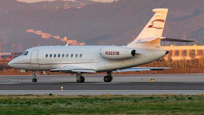 N3221B - Private Dassault Falcon 2000 DX, EX