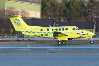 LN-BSG - Babcock Scandinavian AirAmbulance Beechcraft 200 King Air