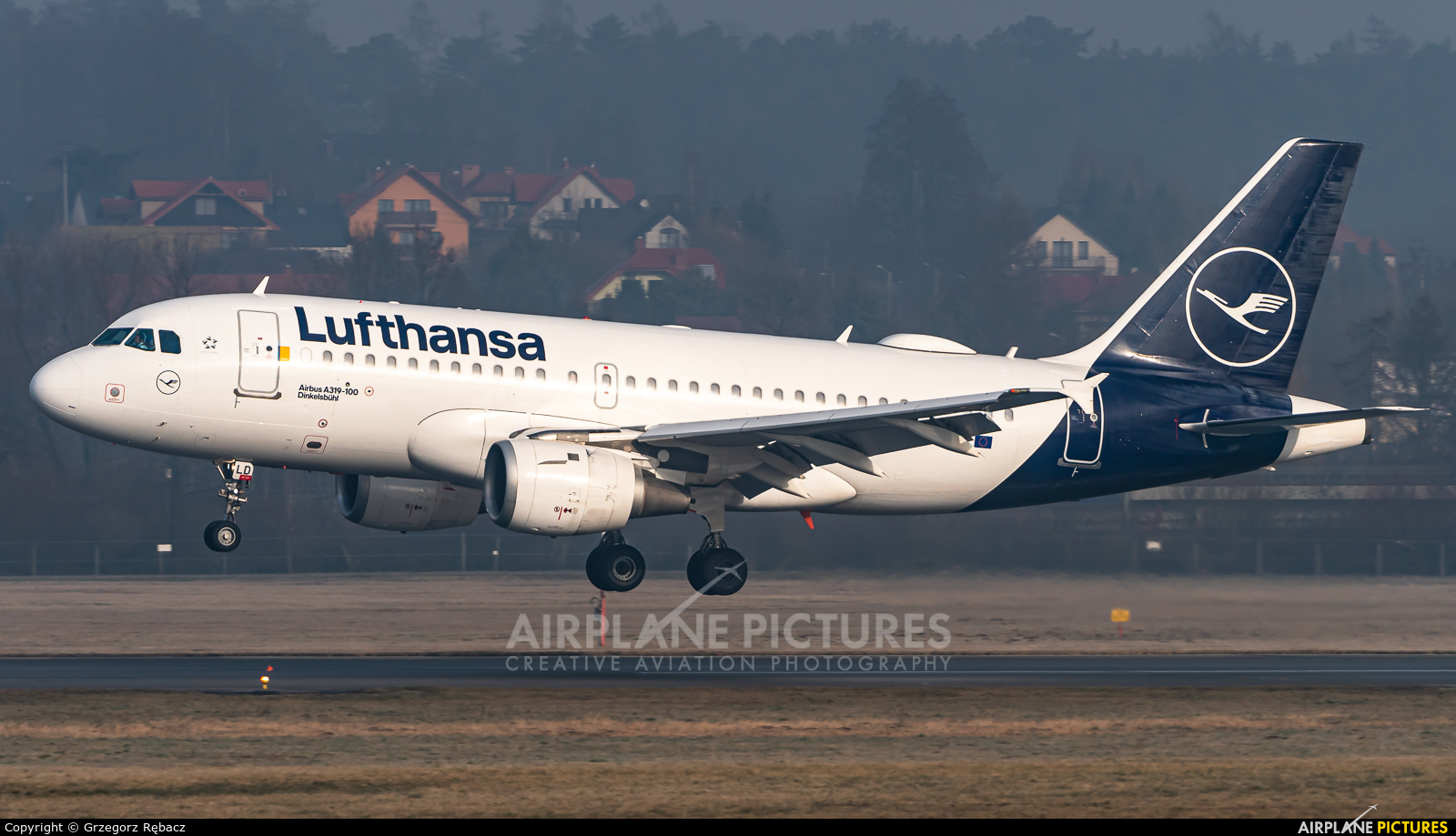 Lufthansa D-AILD aircraft at Kraków - John Paul II Intl