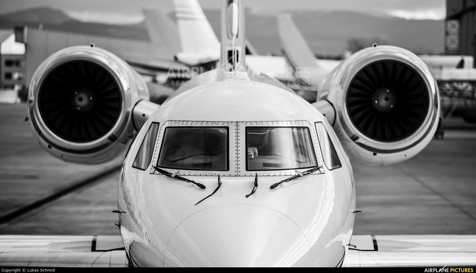 Private N920KM aircraft at Basel - Mulhouse- Euro
