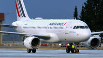F-GRHQ - Air France Airbus A319 aircraft