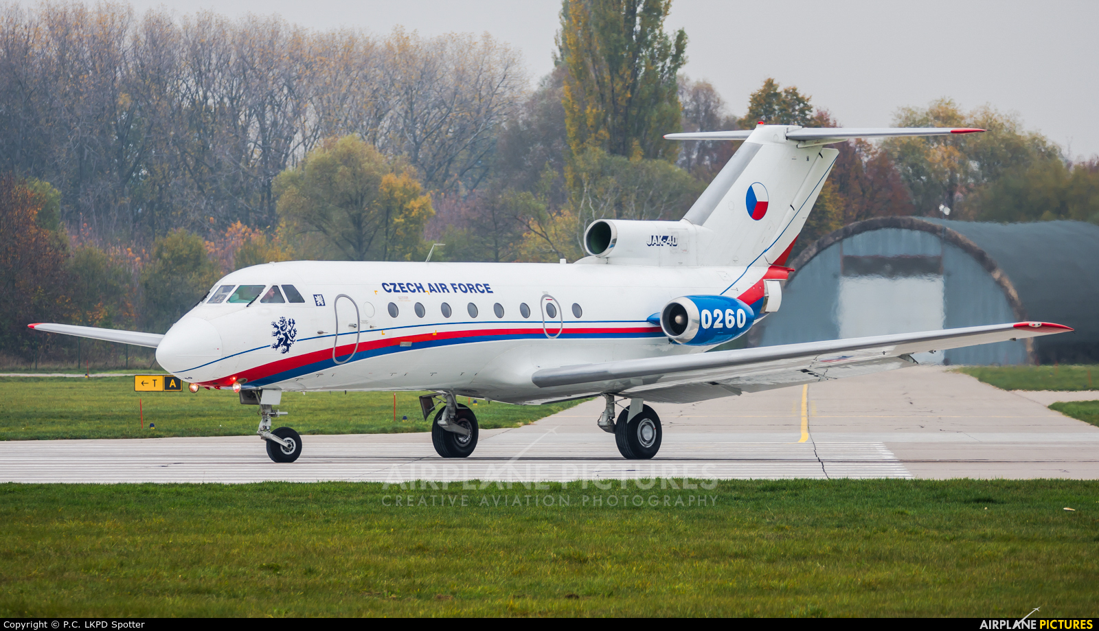 Czech - Air Force 0260 aircraft at Pardubice