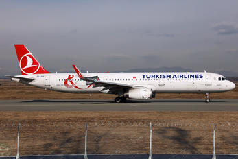 TC-JTE - Turkish Airlines Airbus A321