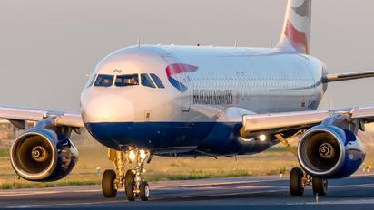 G-MIDO - British Airways Airbus A320