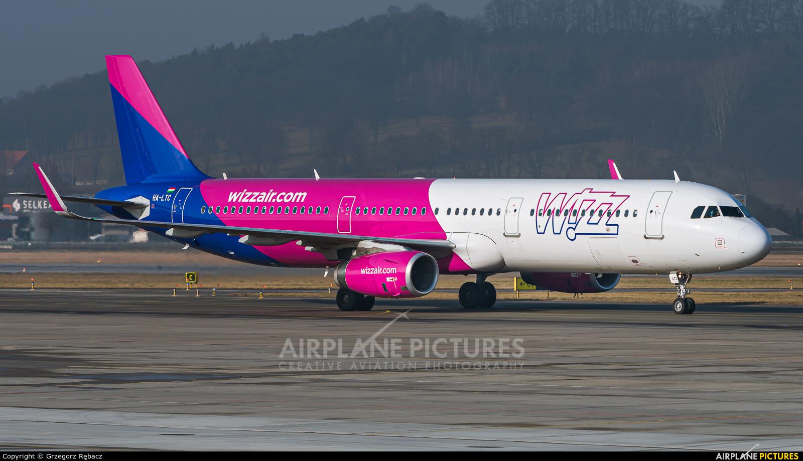 Wizz Air HA-LTC aircraft at Kraków - John Paul II Intl