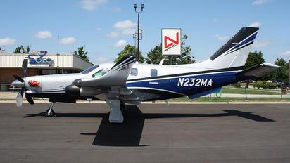 N232MA - Private Socata TBM 930