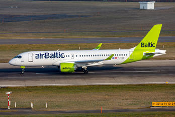 YL-CSG - Air Baltic Airbus A220-300
