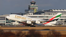 A6-EEC - Emirates Airlines Airbus A380 aircraft
