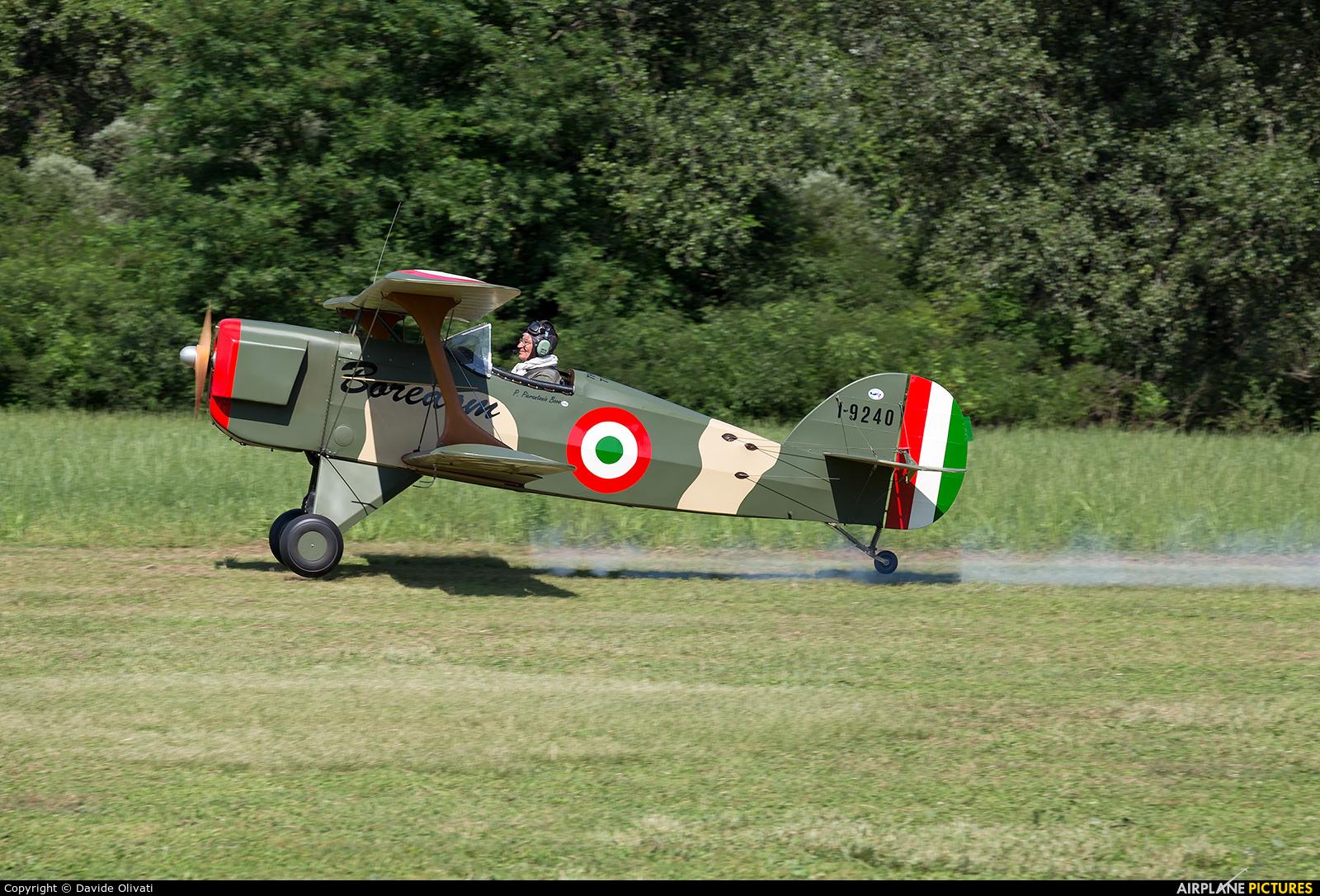 Private I-9240 aircraft at Nervesa della Battaglia
