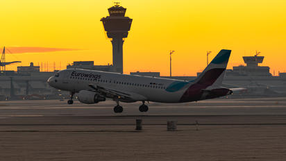 D-ABDT - Eurowings Airbus A320