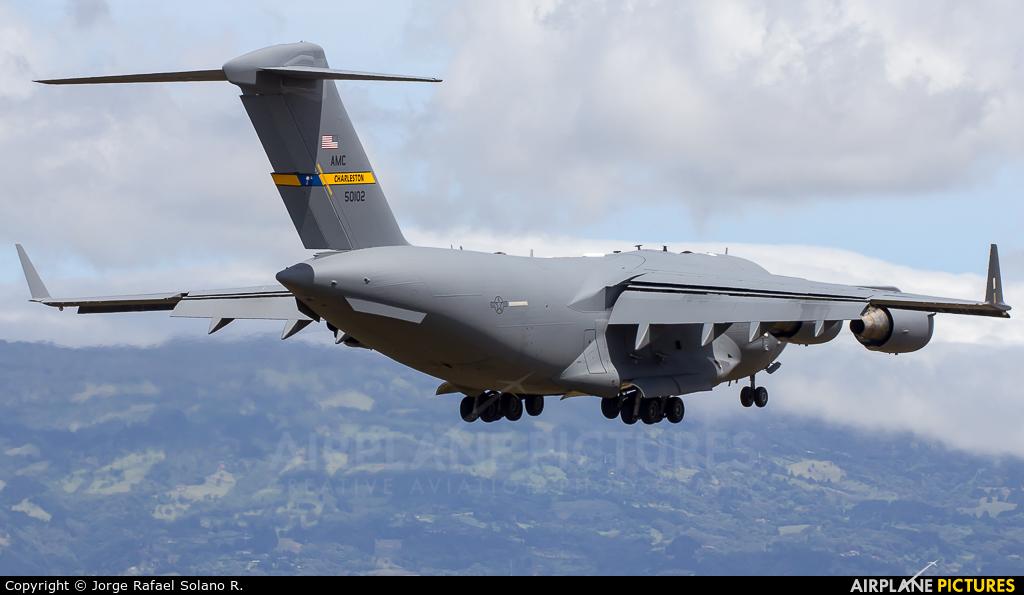 USA - Air Force 95-0102 aircraft at San Jose - Juan Santamaría Intl
