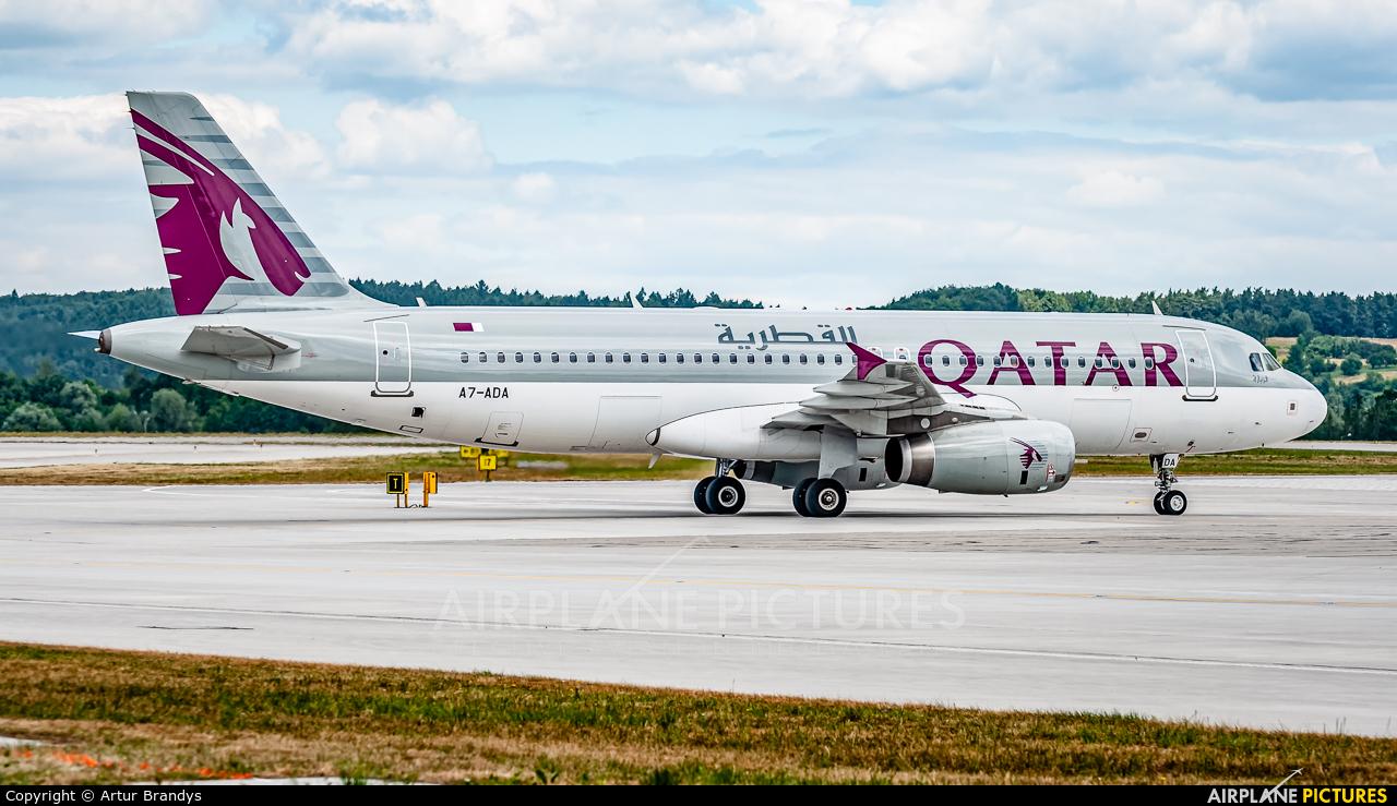 Qatar Airways A7-ADA aircraft at Kraków - John Paul II Intl