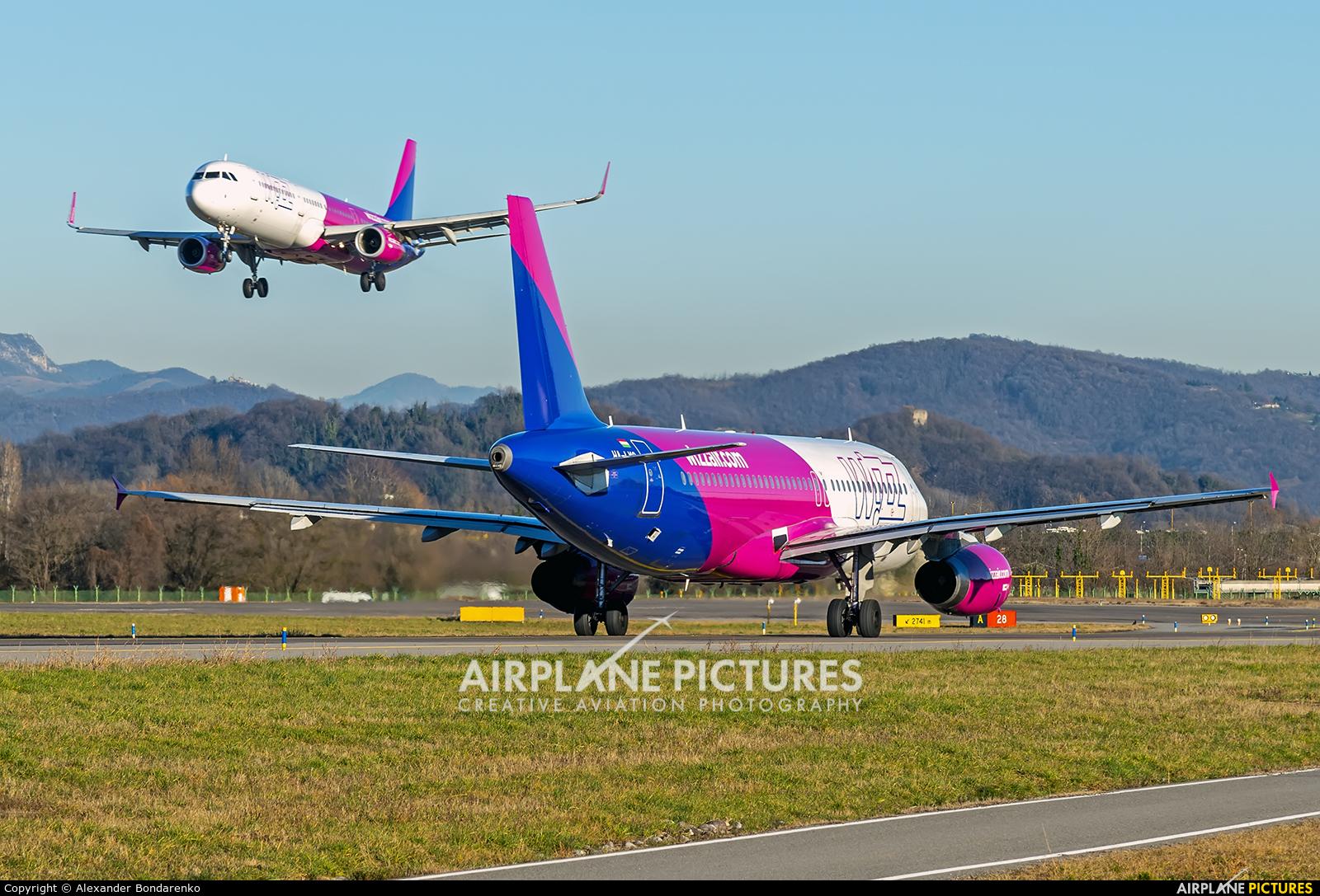 Wizz Air HA-LWC aircraft at Bergamo - Orio al Serio