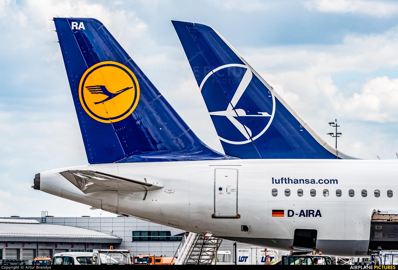 Lufthansa D-AIRA aircraft at Kraków - John Paul II Intl