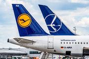 D-AIRA - Lufthansa Airbus A321 aircraft
