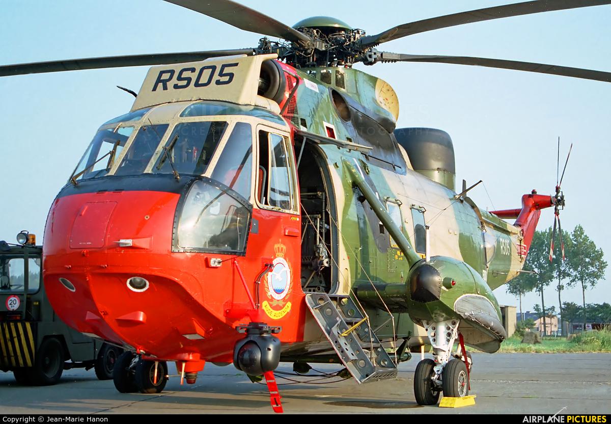 Belgium - Air Force RS05 aircraft at Koksijde