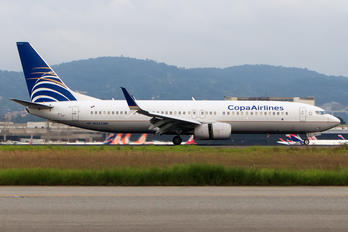 HP-1824CMP - Copa Airlines Boeing 737-800