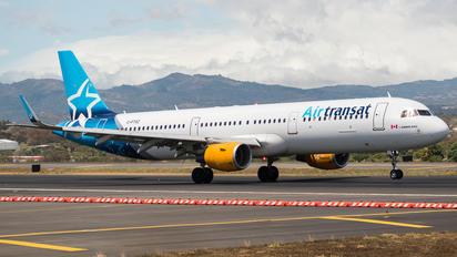 C-FTXZ - Air Transat Airbus A321