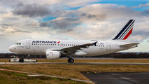 F-GRHQ - Air France Airbus A319 aircraft
