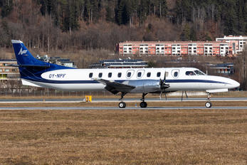 OY-NPF - North Flying Swearingen SA227-TT Merlin IVC