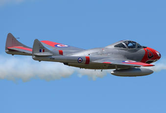 C-FJRH - Private de Havilland DH.115 Vampire T.55