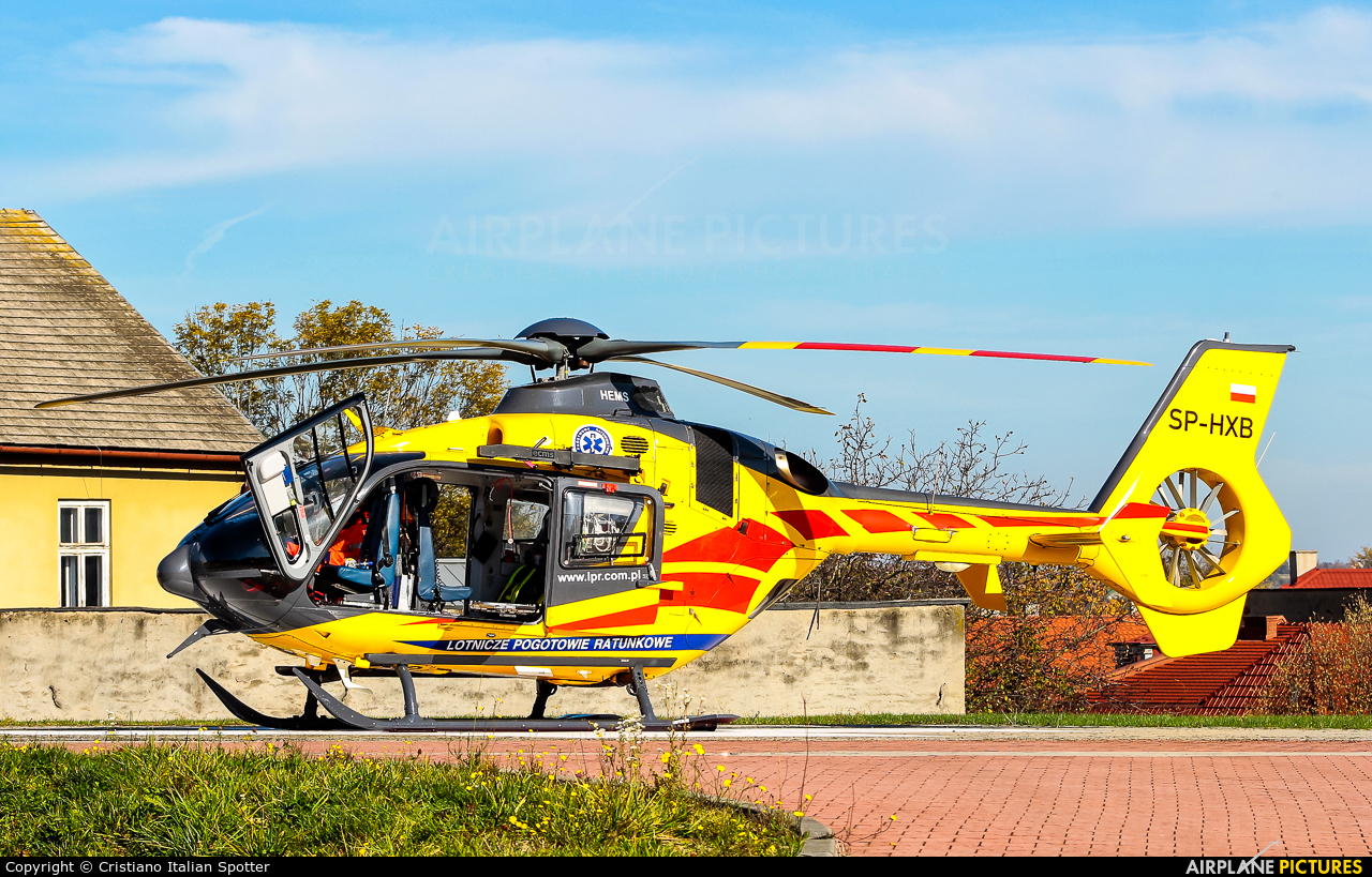 Polish Medical Air Rescue - Lotnicze Pogotowie Ratunkowe SP-HXB aircraft at Off Airport - Poland