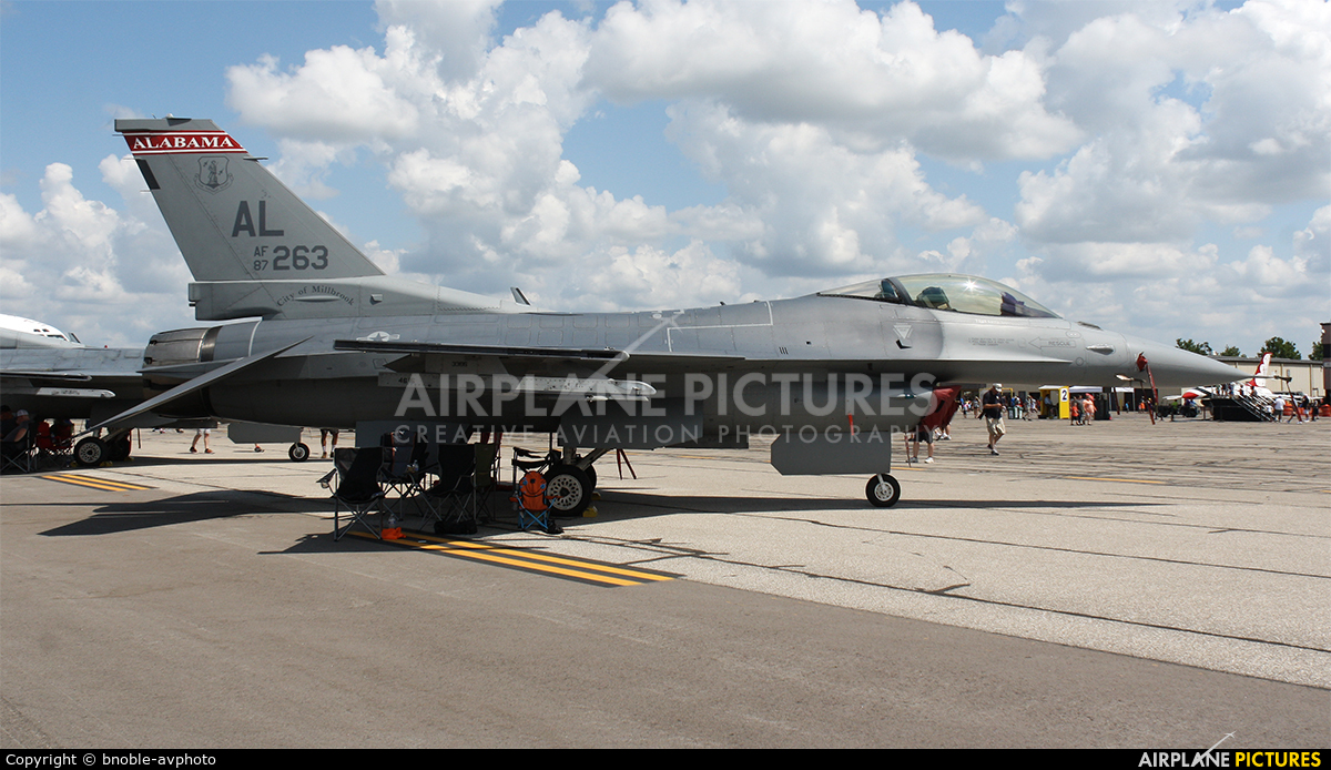 USA - Air Force 87-0263 aircraft at Detroit - Willow Run