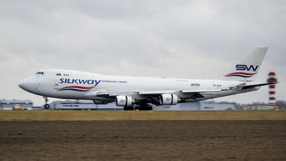 VP-BCR - Silk Way Airlines Boeing 747-400F, ERF