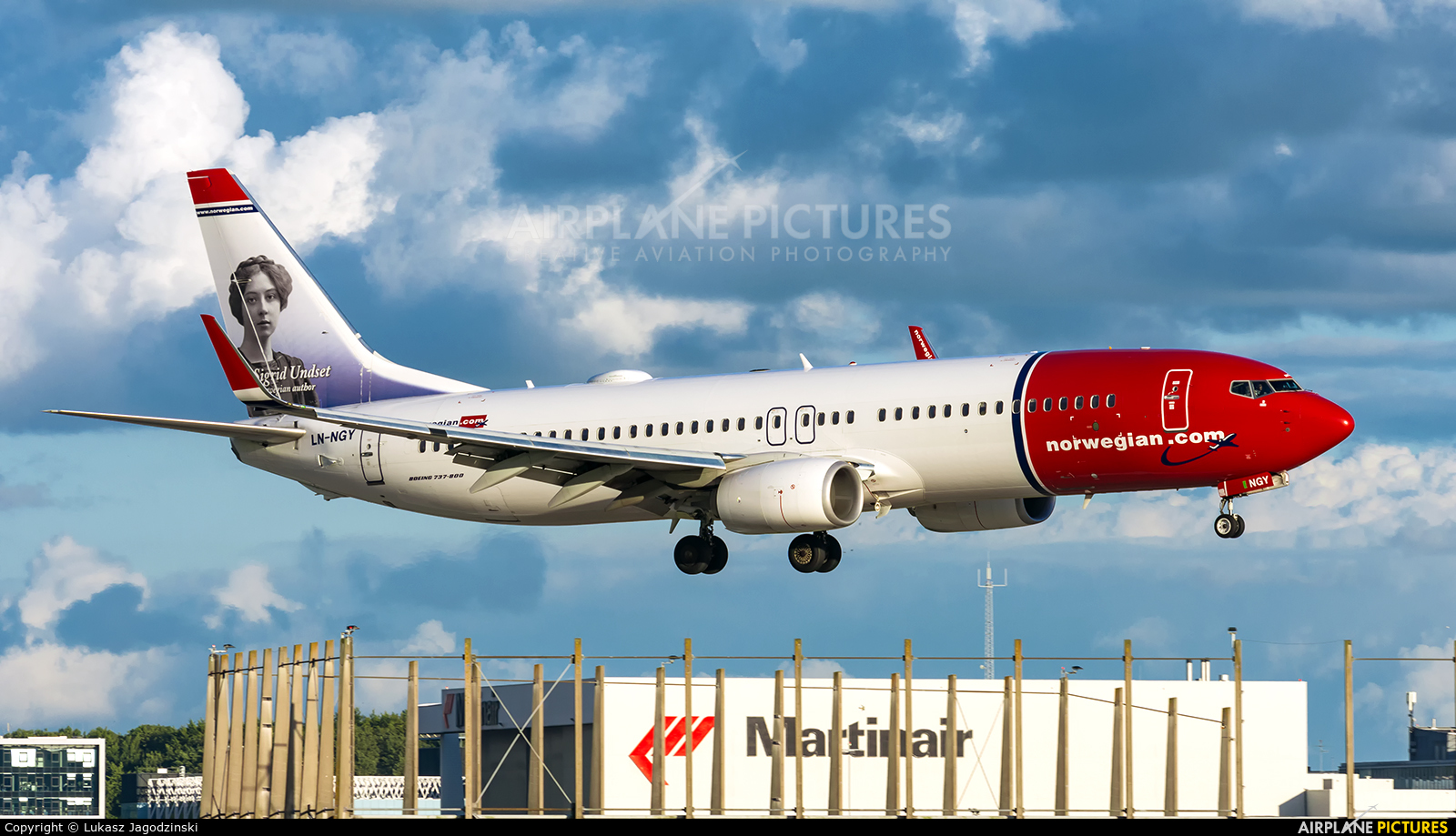 Norwegian Air Shuttle LN-NGY aircraft at Amsterdam - Schiphol