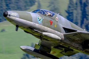 HB-RVW - Private Hawker Hunter T.68