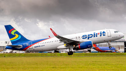 N634NK - Spirit Airlines Airbus A320