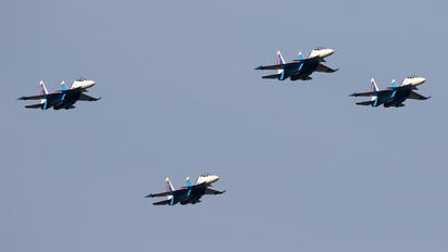 "RF-81703 - Russia - Air Force ""Russian Knights"" Sukhoi Su-30SM"
