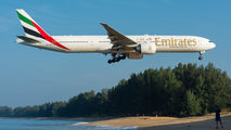 A6-EBM - Emirates Airlines Boeing 777-300ER aircraft
