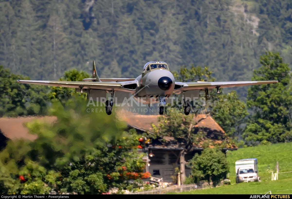 Fliegermuseum Altenrhein HB-RVJ aircraft at St. Stephan