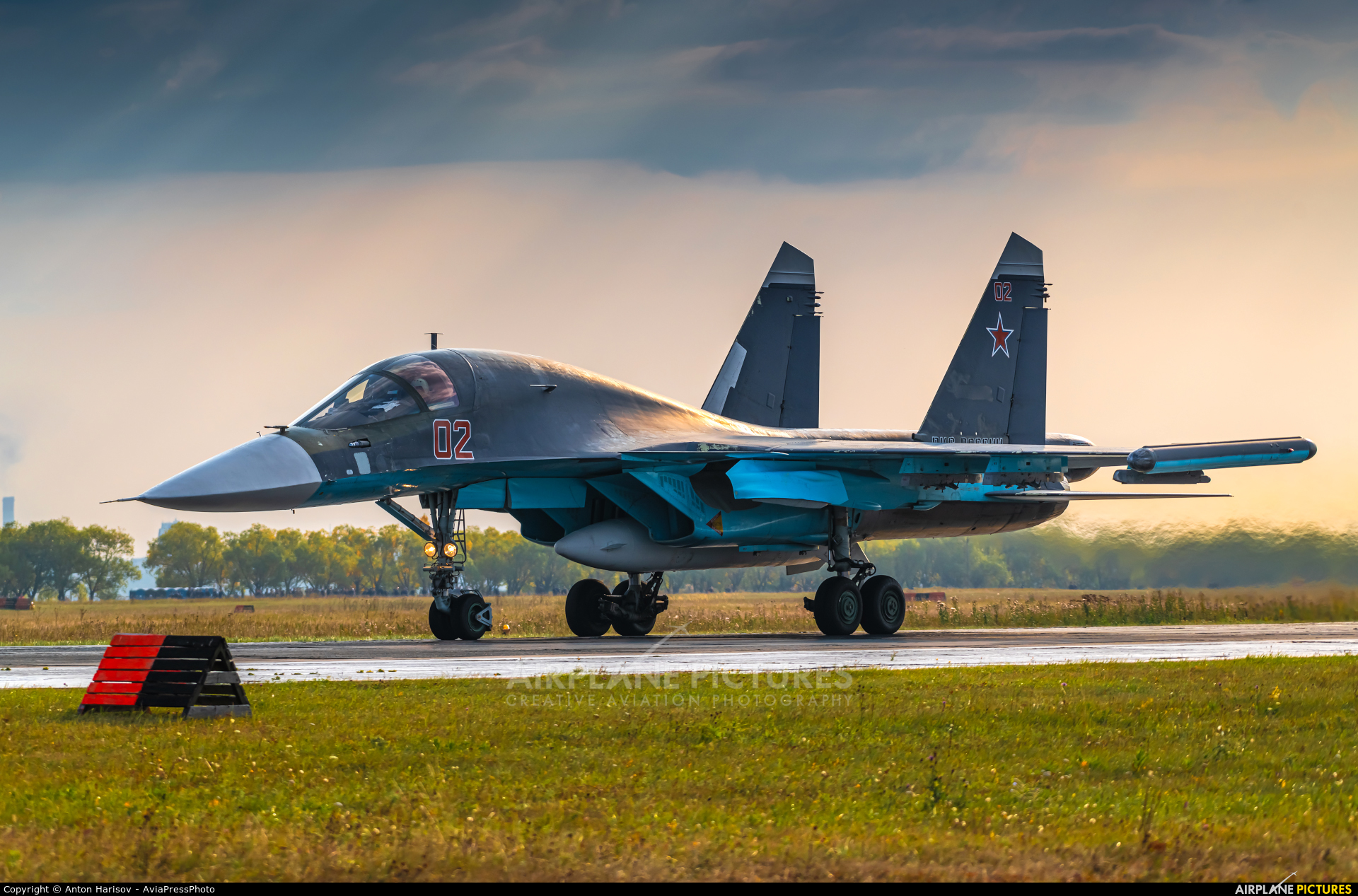 Russia - Air Force 02 aircraft at Undisclosed Location