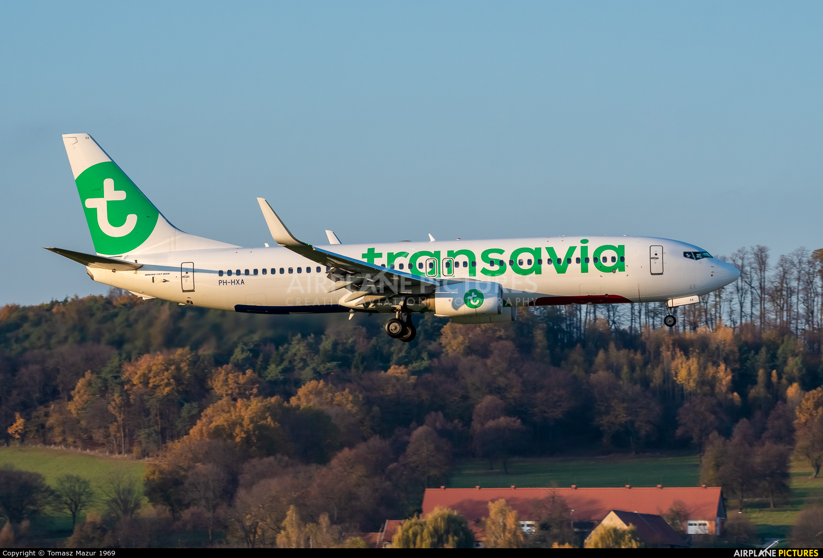 Transavia PH-HXA aircraft at Kraków - John Paul II Intl