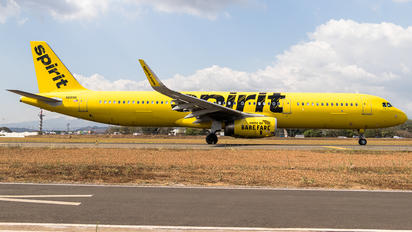 N681NK - Spirit Airlines Airbus A321