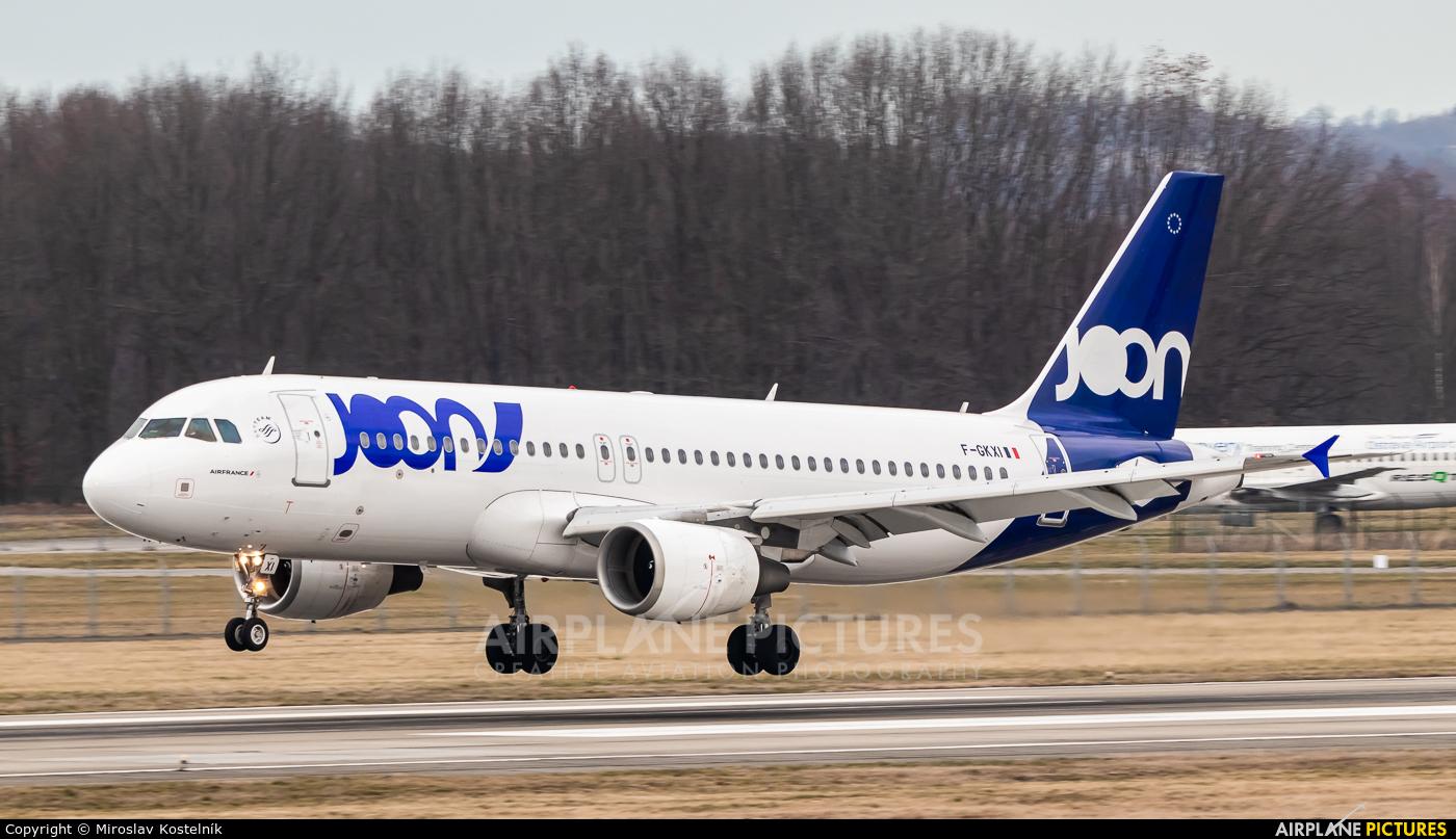 Joon F-GKXI aircraft at Ostrava Mošnov