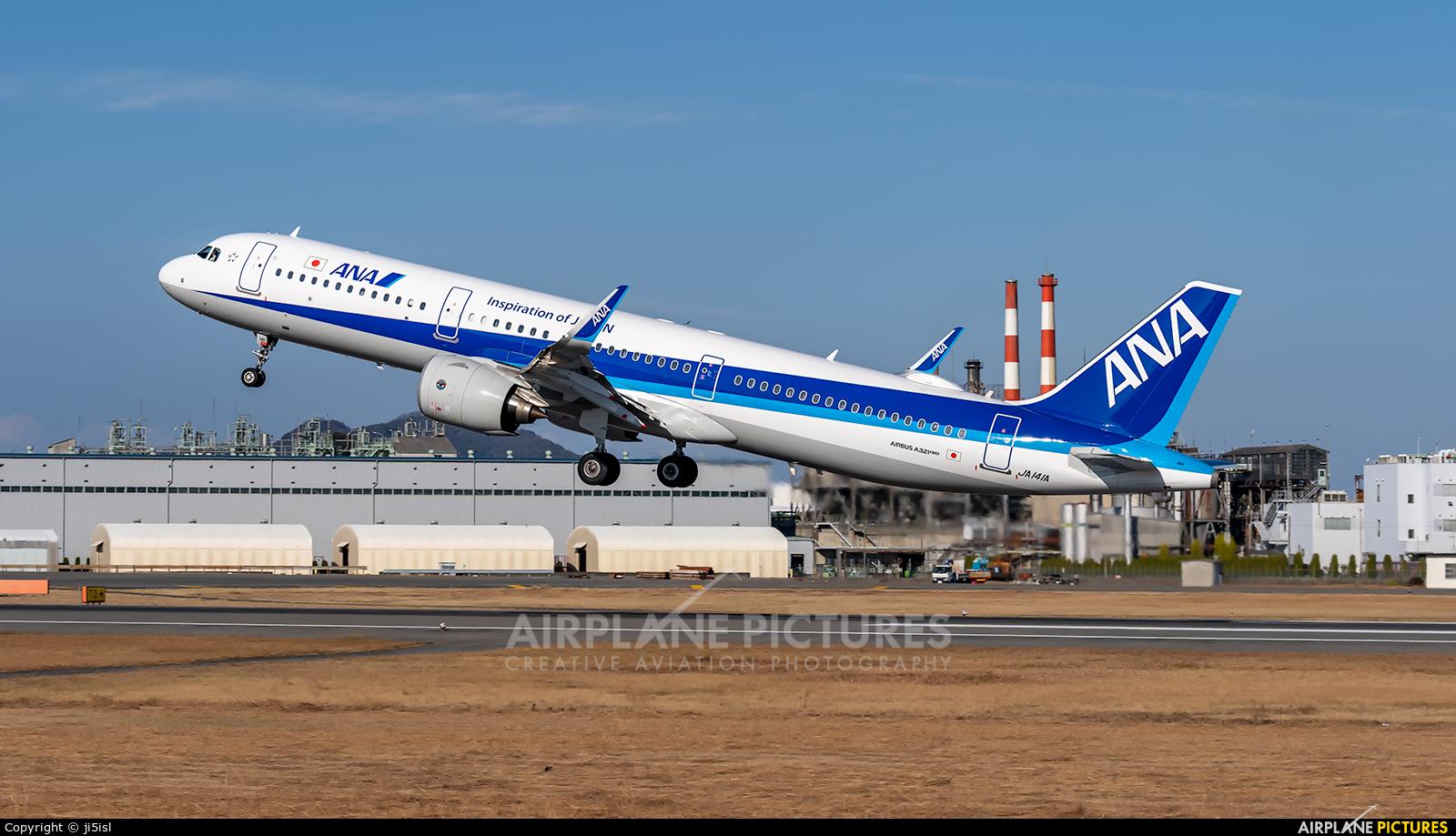 ANA - All Nippon Airways JA141A aircraft at Matsuyama