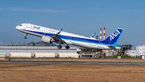 JA141A - ANA - All Nippon Airways Airbus A321 aircraft