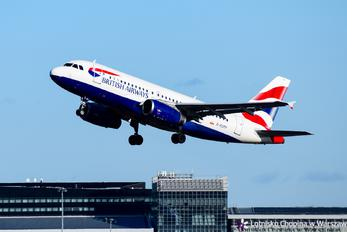 G-EUPP - British Airways Airbus A319