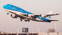 PH-BFW - KLM Boeing 747-400 aircraft