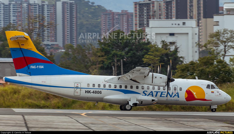 Satena HK-4806 aircraft at Medellin - Olaya Herrera
