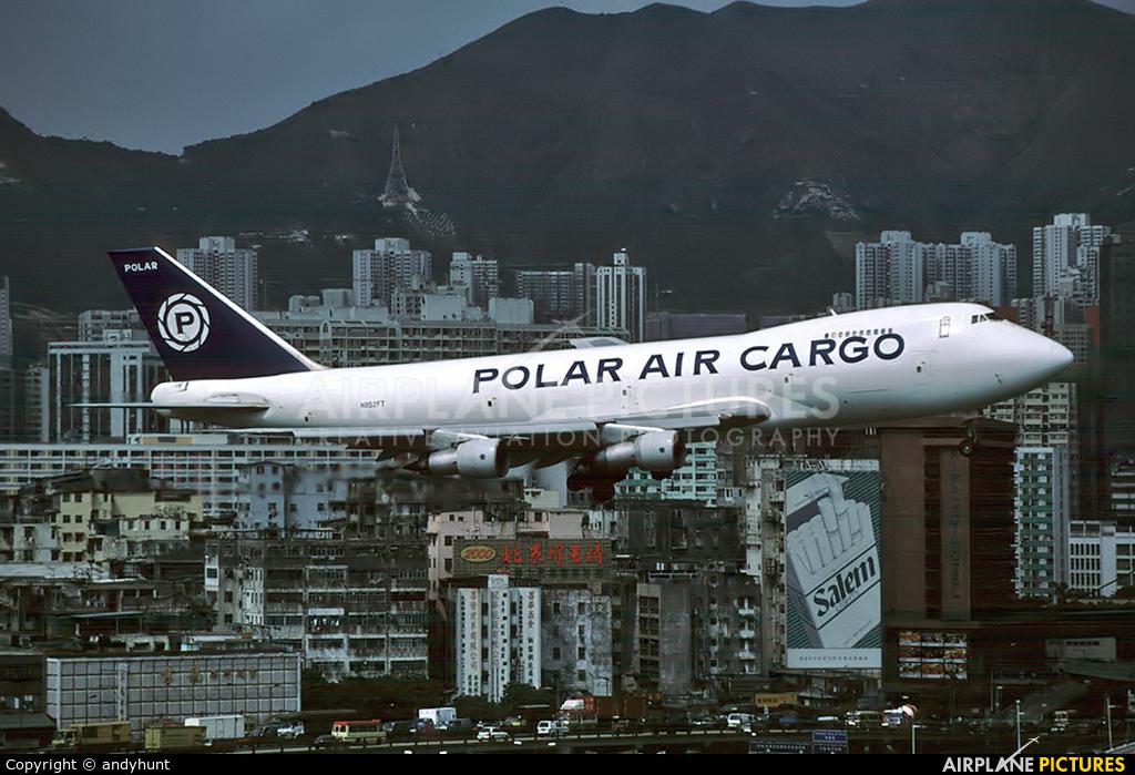Polar Air Cargo N852FT aircraft at HKG - Kai Tak Intl CLOSED