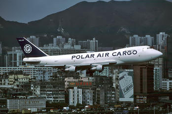 N852FT - Polar Air Cargo Boeing 747-100F