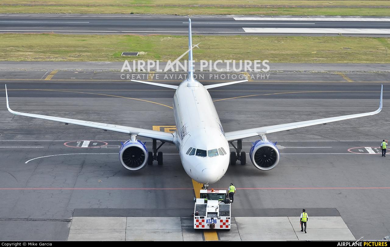 Interjet XA-JIL aircraft at Mexico City - Licenciado Benito Juarez Intl
